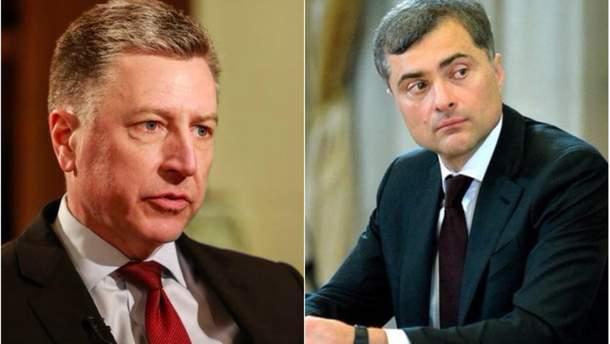 Сурков и Волкер не смогли согласовать позиции по украинскому закону о Донбассе
