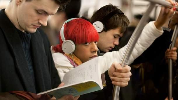 Мужчины в Украине читают меньше, чем женщины
