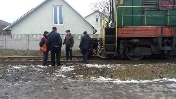 Дизельный локомотив наехал на 12-летнего мальчика на Львовщине