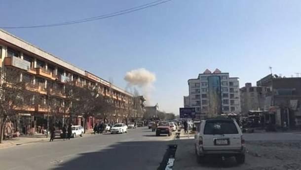 Вибух в Кабулі біля представництва ЄС