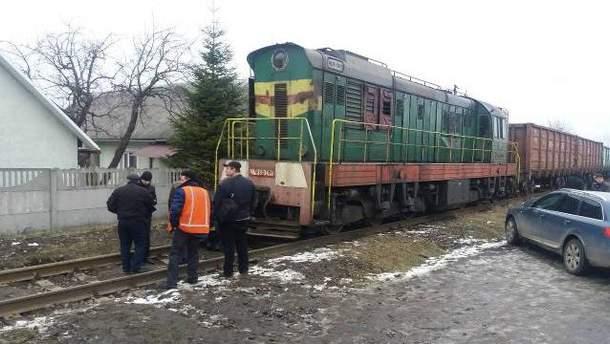 Место аварии в Рава-Русской