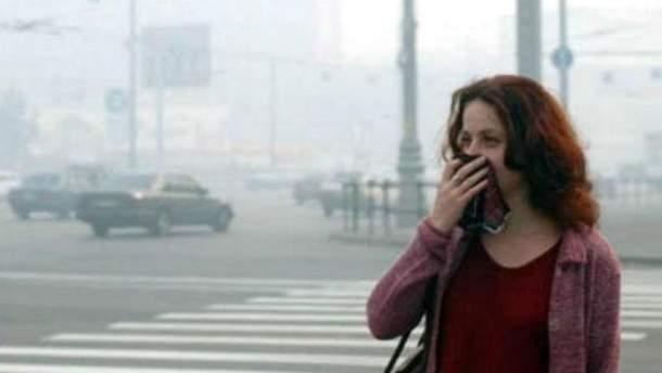 Забруднене повітря спричиняє рак легень