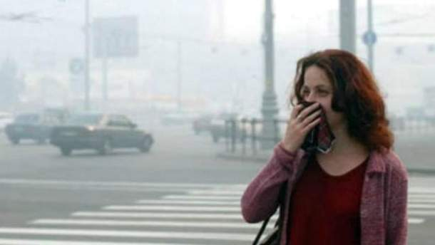 Загрязненный воздух вызывает рак легких