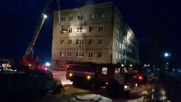 Под Омском в пожаре погибли 5 человек