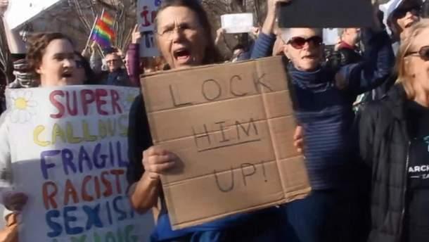 """Протести у США """"за"""" імпічмент Дональда Трампа"""