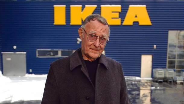 Умер основатель IKEA Ингвар Кампрад