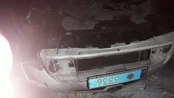 Авто з поліцейськими перевернулось на Тернопільщині