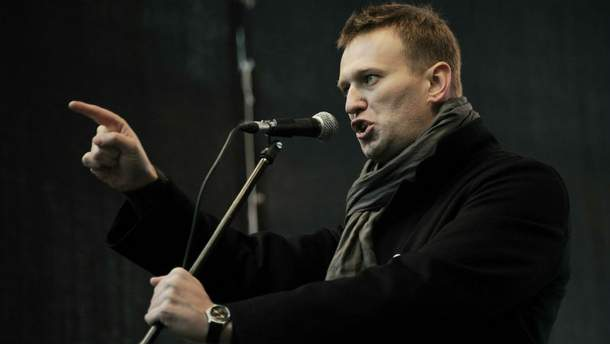 В Москве полиция задержала Навального