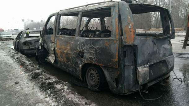 Потужна аварія у Києві