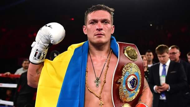 Александр Усик в очередной раз подчеркнул, что он – украинец