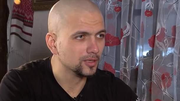 Экс-заложник боевиков Игорь Яковенко