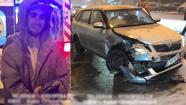 ДТП у Києві за участю водія Uber та авто з вагітною жінкою