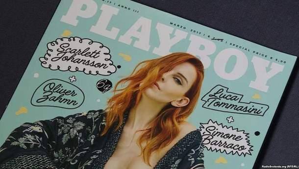 Валерия Радкевич на обложке Playboy