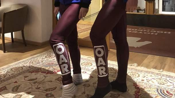 В сети жестоко высмеивают форму российских спортсменов на Олимпиаде-2018