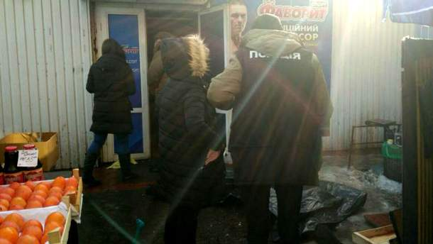 Убийство среди бела дня в Киеве