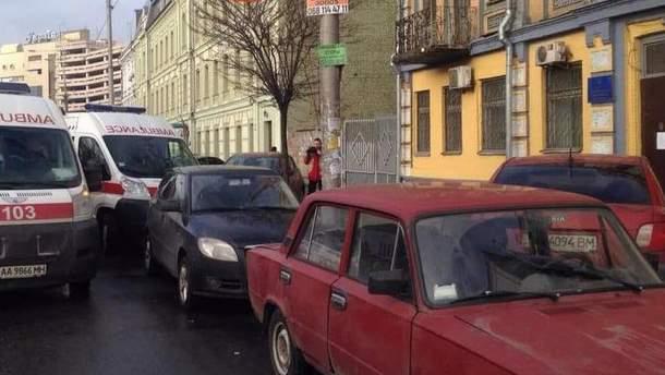 У Святошинского райсуда в Киеве произошла перестрелка