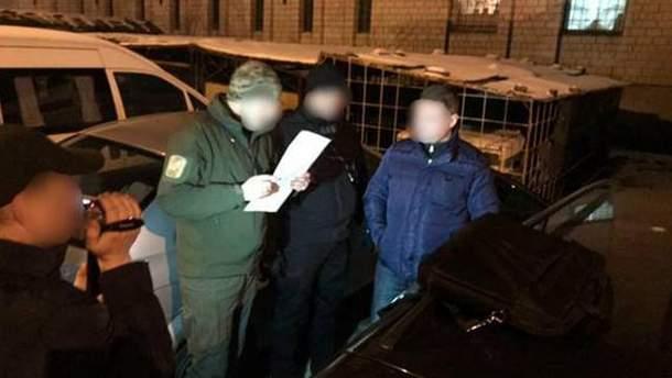 Задержание полицейских во Львове
