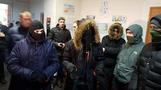 Националисты сорвали пропагандистский концерт в Днепре