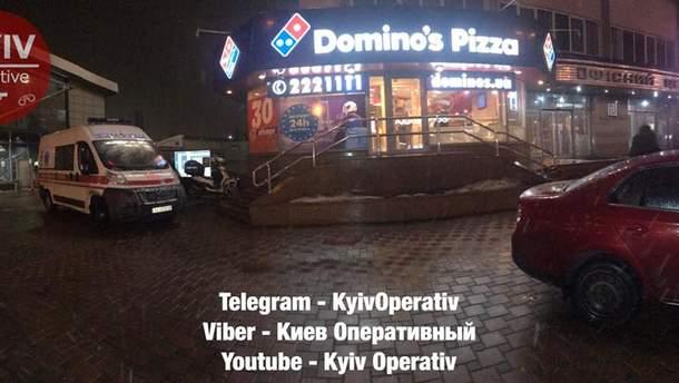 Смерть в пиццерии в Киеве