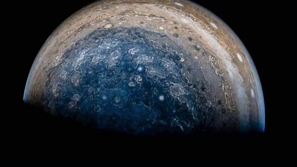 Как выглядит буря на Юпитере