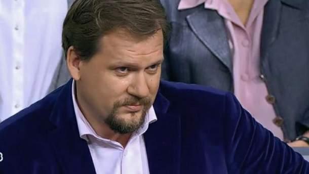 Український журналіст Юрій Кот зробив скандальну заяву