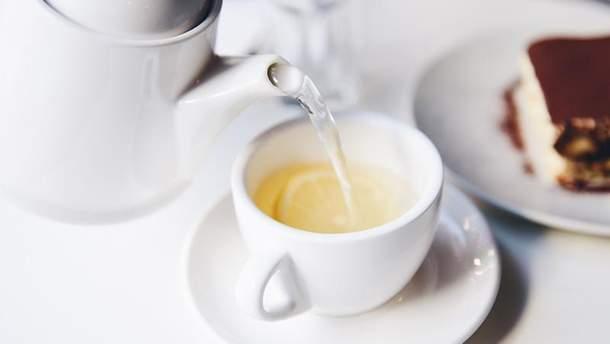 Негативні наслідки вживання чаю