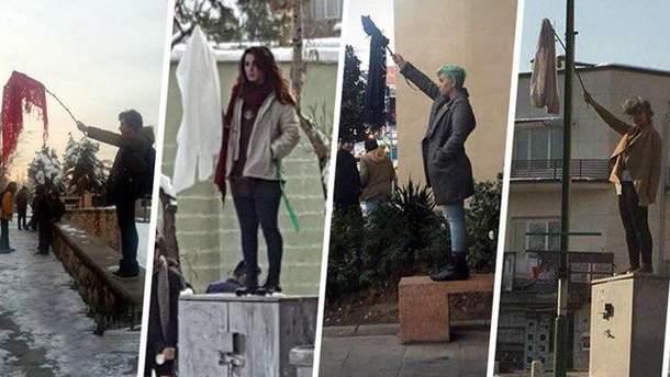 Протести проти хіджабів в Ірані