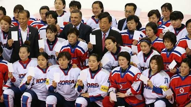Сборная Кореи по хоккею