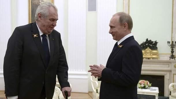 Президентские выборы в Чехии сигнализируют о том, что Россия будет продолжать свои подрывные действия на Западе