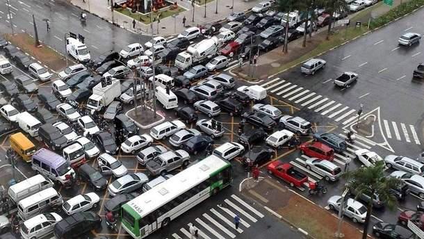 Трафік у Москві