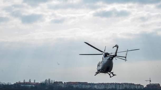 Украинскую границу будет охранять спецподразделение вертолетов