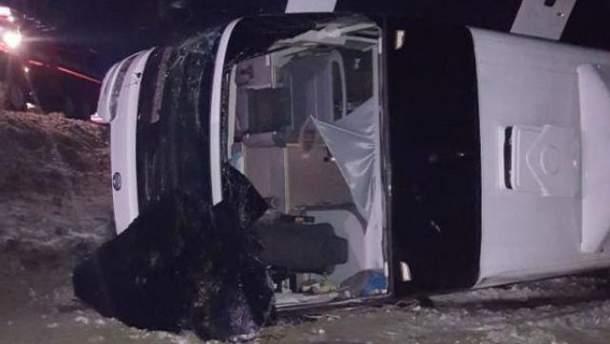 В Ростове перевернулся пассажирский автобус: 4 погибших
