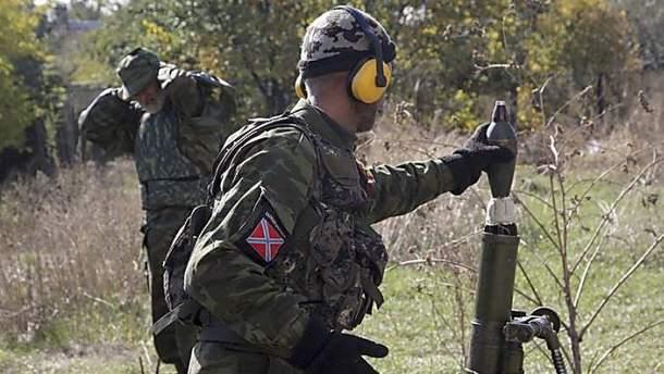 Обстрелы со стороны боевиков