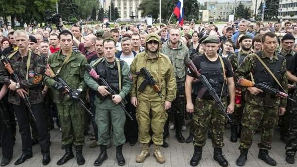Мобилизация боевиков на оккупированных территориях