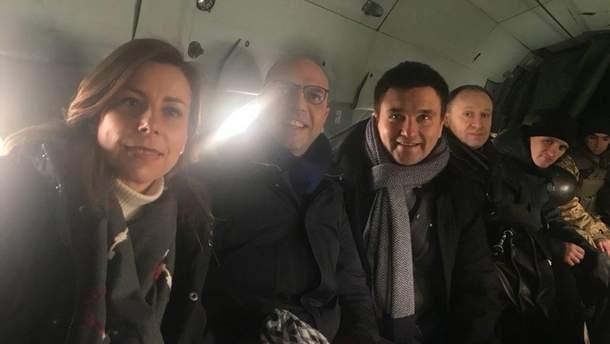 Клімкін і Альфано поїхали з візитом на Донбас