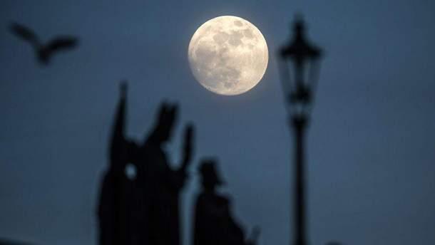 """Місячне затемнення 31 січня: опублікували перші фото """"блакитного кривавого супермісяця"""""""