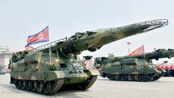 КНДР планує ракетний парад напередодні відкриття Олімпіади-2018