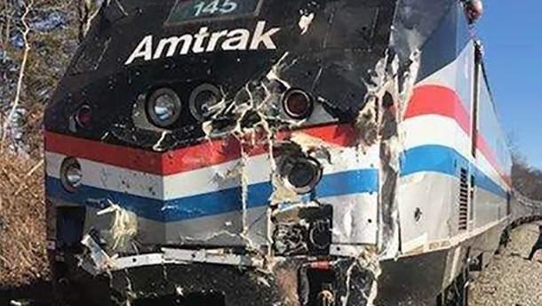 В аварию попал поезд с конгрессменами США