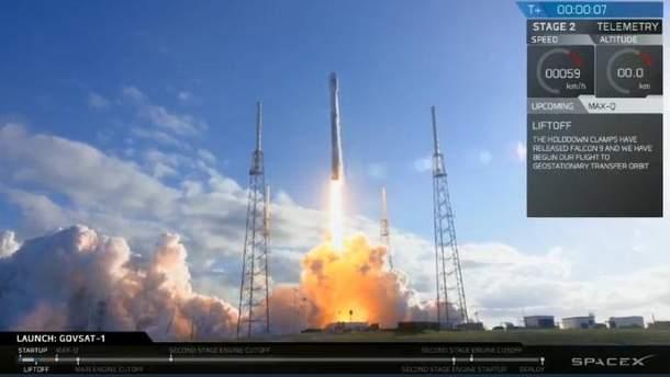Запуск ракети-носія Falcon 9