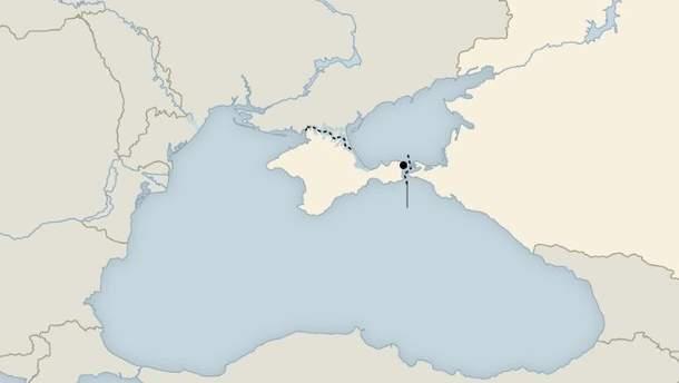 """""""Спорный"""" Крым изобразили на школьных атласах в Чехии"""
