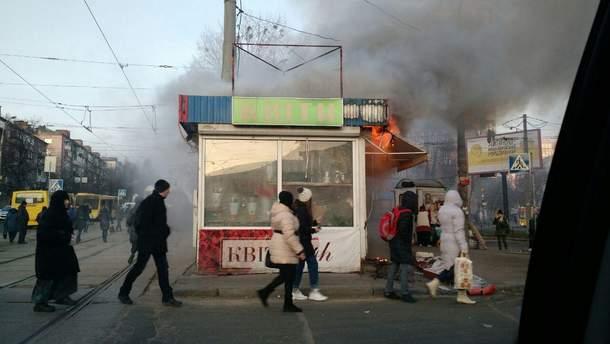 В Киеве возле станции метро