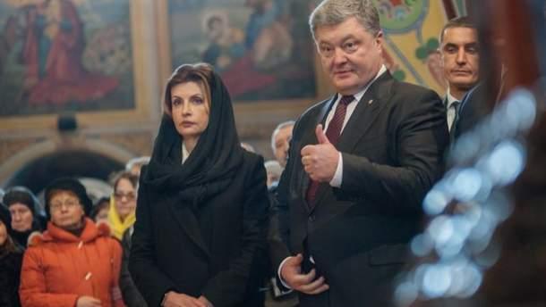 Марине Порошенко исполняется 56 лет