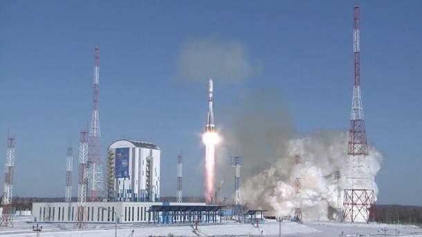 У Росії показали відео запуску ракети