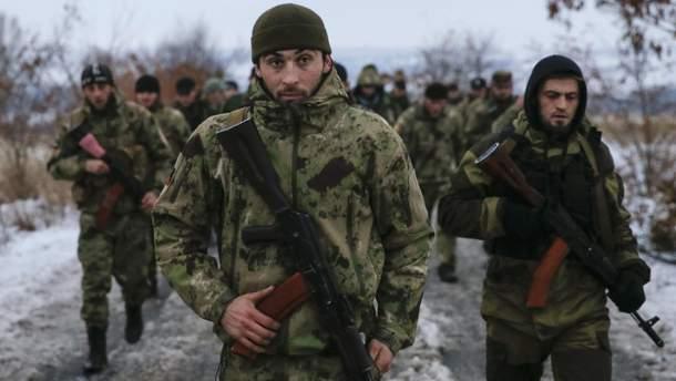 Террористы в Донбассе
