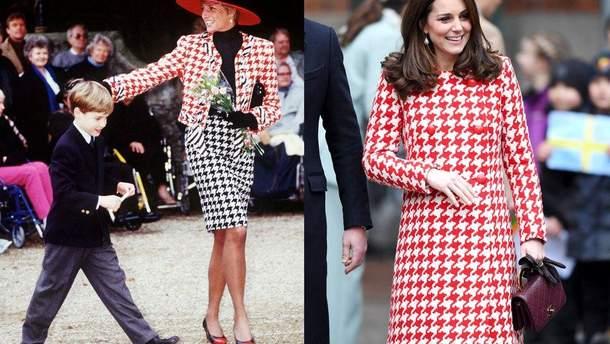 Кейт Міддлтон приміряла схожий образ, як принцеса Діана 30 років тому