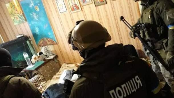 Полицейские и КОРД задержали банду, которая взорвала полицейских в Днепре