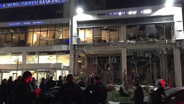 Фото с места взрыва в Анкаре