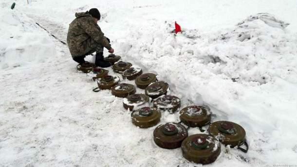 Украинские военные провели зрелищные учения
