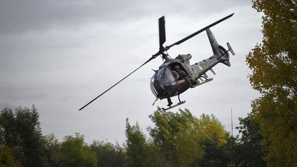 Два военных вертолета разбились во Франции