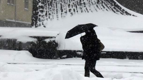 Прогноз погоди на неділю 4 лютого